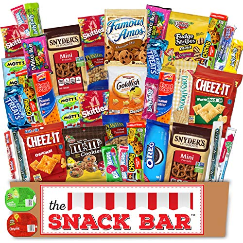 The Snack Bar - Snack Care Package 40 count - Variety Assortme...