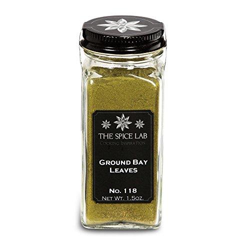 The Spice Lab No. 118 - Ground Bay Leaves - Kosher Gluten-Free N...