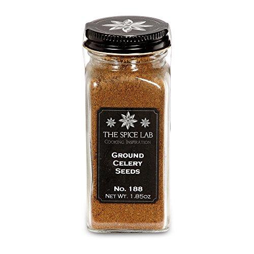 The Spice Lab No. 188 - Ground Celery Seeds - Kosher Gluten-Free...