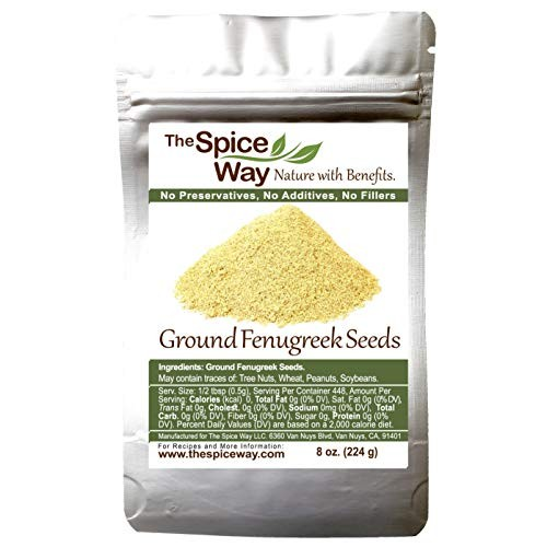 The Spice Way Fenugreek - ground | 8 oz | great for Indian curry...