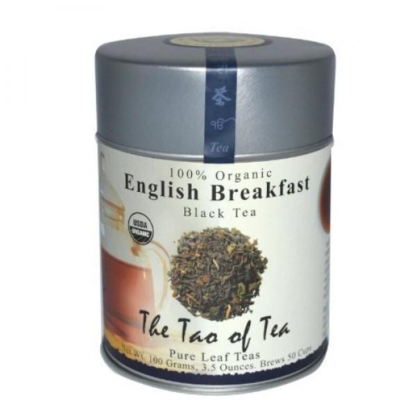 The Tao of Tea 100 Organic Hearty Black Tea Blend English Breakf...