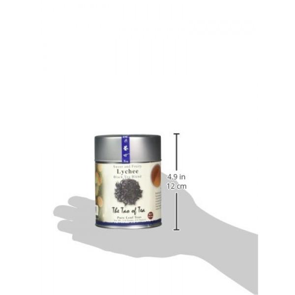 The Tao of Tea, Lychee Black Tea, Loose Leaf, 4.0 Ounce Tins