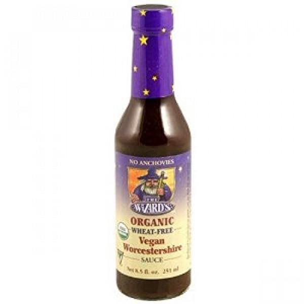 THE WIZARDS SAUCES Organic Vegetarian Worcestershire Sauce, 8.5 OZ