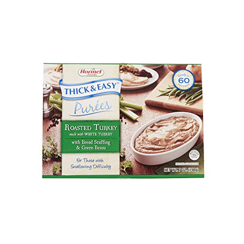 Hormel Thick and Easy Purees 7 oz. Bowl Turkey with Stuffing, Gr...