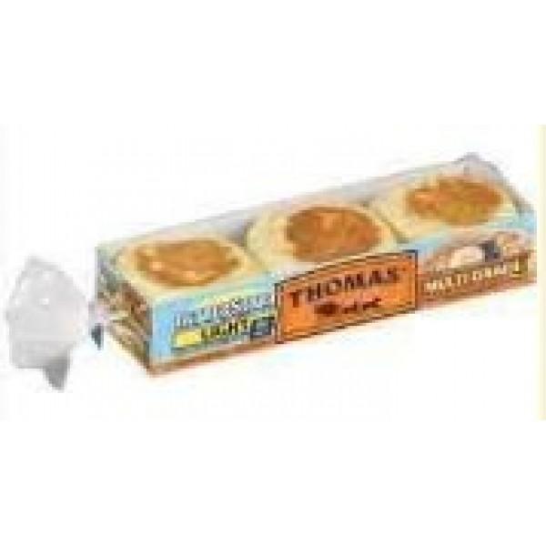 Thomas Better Start Light Multi-Grain English Muffins, 12 oz P...