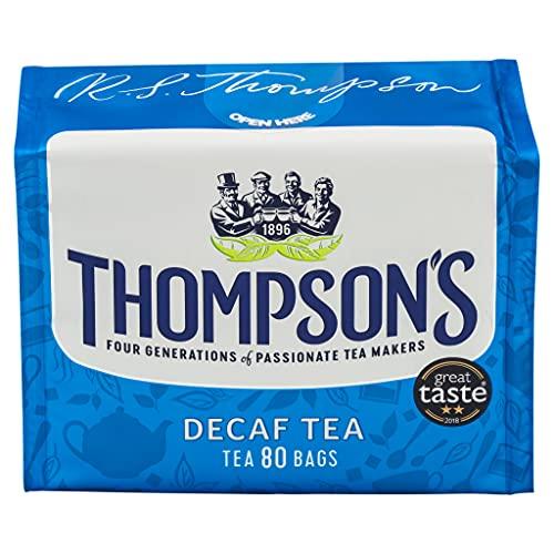 Thompsons Family Teas - Decaf80 tea bags