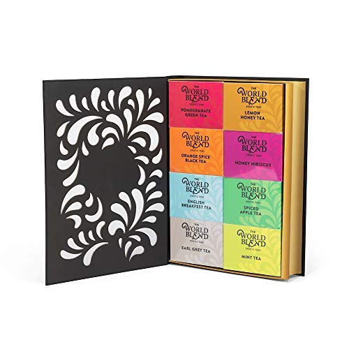 Thoughtfully Gifts, Tea Story: A Tea Lovers Gift Set, 8 Differe...