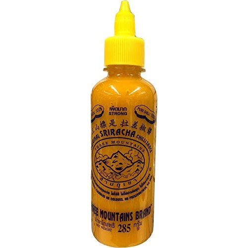 Original Three Mountain Sriracha Hot Chili Sauce Most Spicy flav...