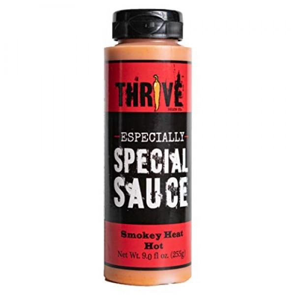 Thrive Sauce Multi-Purpose Dairy-free Hot Sauce - Smokey Hot -...