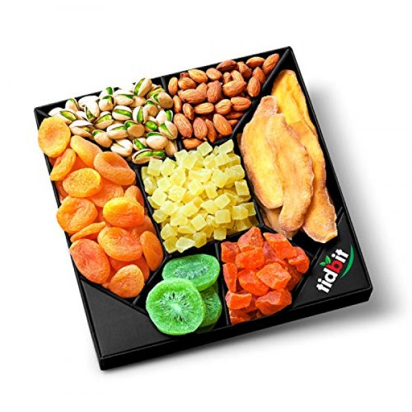 Fruit & Nut Platter, Perfect Gift Box For Everyone- For Healthy ...