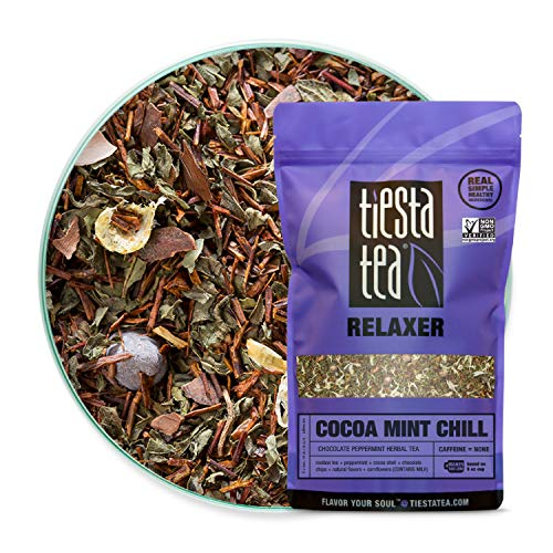 Tiesta Tea - Cocoa Mint Chill, Loose Leaf Chocolate Peppermint H...