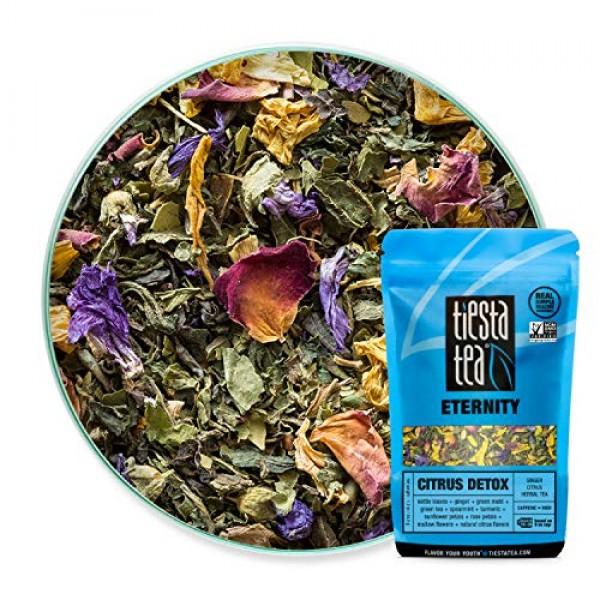 Tiesta Tea Citrus Detox, Ginger Citrus Herbal Tea, 30 Servings, ...