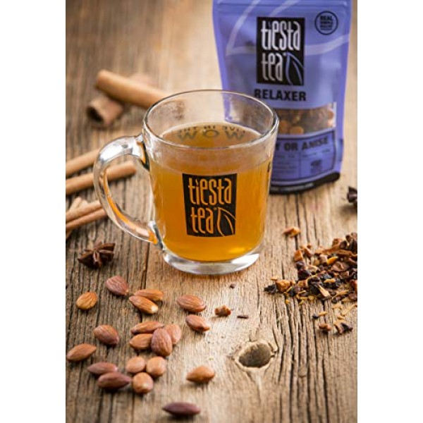 Tiesta Tea Dry Flight Sampler, Relaxer Teas, 7 Count 1 Ounce Pou...