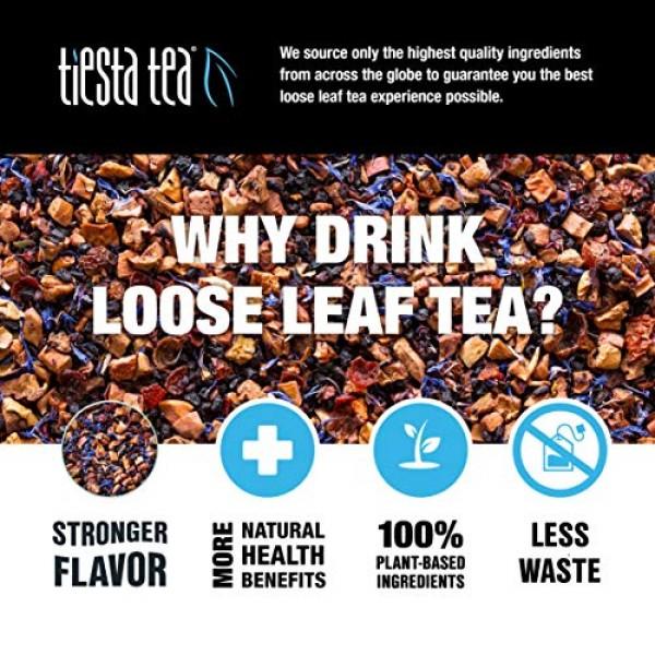 Tiesta Tea Eternity Herbal Tea, Blueberry Wild Child, 1.8 Ounce ...