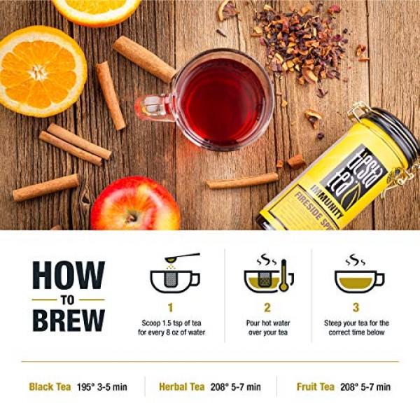 Tiesta Tea - Fireside Spice, Loose Leaf Mulled Wine Herbal tea, ...