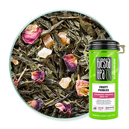 Tiesta Tea - Fruity Pebbles, Loose Leaf Strawberry Pineapple Gre...