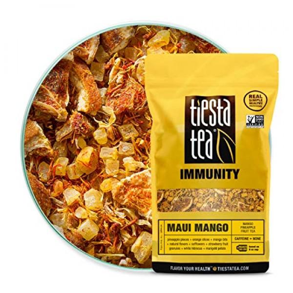 Tiesta Tea - Maui Mango, Loose Leaf Mango Pineapple Herbal Tea, ...
