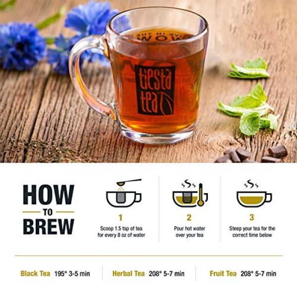 Tiesta Tea | Peppermint Cocoa, Loose Leaf Peppermint Rooibos Tea...