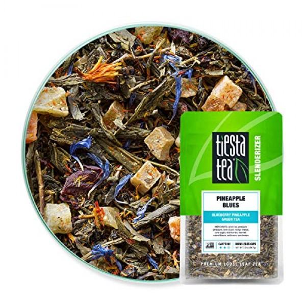Tiesta Tea | Pineapple Blues, Loose Leaf Blueberry Pineapple Gre...