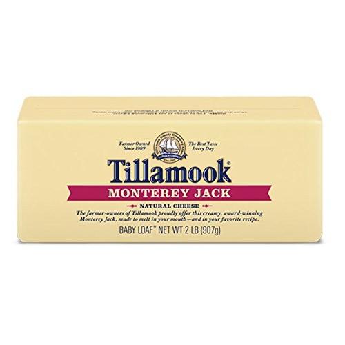Tillamook Cheese 2lb Baby Loaf Choose Flavor Below Monterey J...