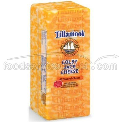 Tillamook Colby Jack Cheese, 1 Pound -- 12 per case.