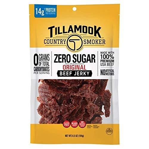 Tillamook Country Smoker Zero Sugar Original Keto Friendly Beef ...