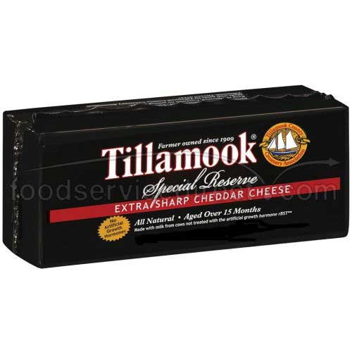 Tillamook Special Reserve Extra Sharp Cheddar Cheese Loaf, 10 Po...