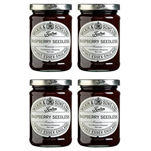 4 Pack - Tiptree - Raspberry Seedless Conserve | 340g | 4 Pack...