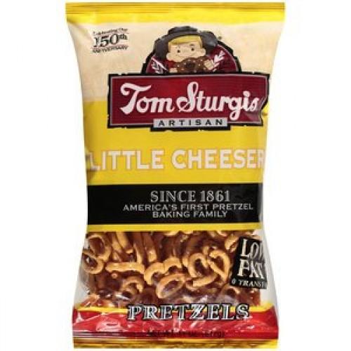 Tom Sturgis Cheese Pretzels Two 11 Oz Bags