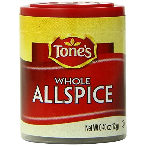 Tones Minis Allspice, Whole, 0.40 Ounce Pack of 6