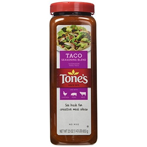 Tones Spices Taco Seasoning Traditional Blend for Mexican Dishe...