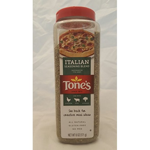 Tones Italian Seasoning - Classic Blend of Herbs 6 oz