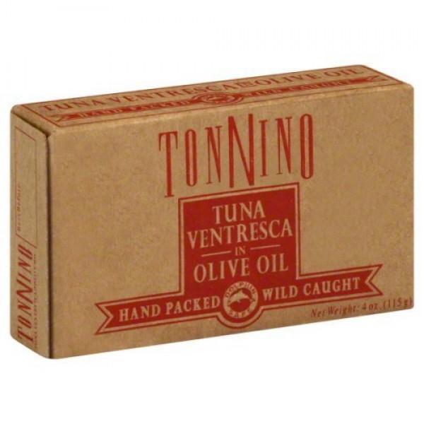 Tonnino Tuna Ventresca In Oil, 4OZ 6PK