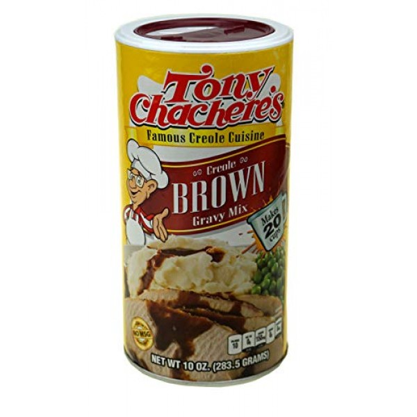 Tony Chacheres Instant Brown Gravy Mix - 10 oz
