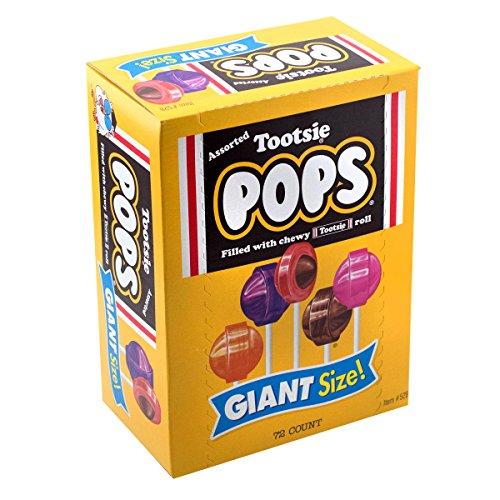 Tootsie Pops Giant Size, 3.82 Pound, 72-Count