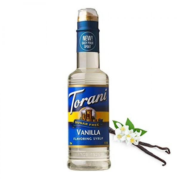 Torani Sugar Free Vanilla Syrup with Splenda, 750 mL