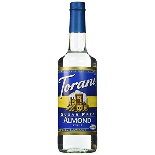 Torani Sugar Free Almond Syrup 750mL