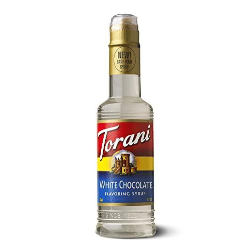 Torani Flavoring White Chocolate Syrup 6x12.7Oz