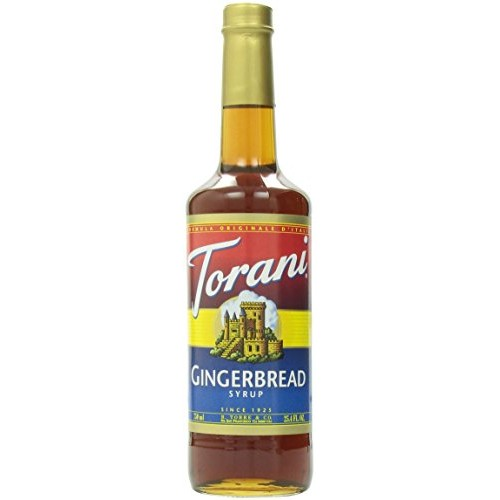 Torani gingerbread 750 ml