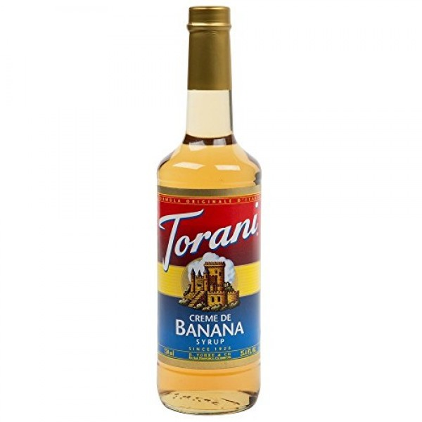 Torani Banana, Creme De, 25.4-Ounce Bottles
