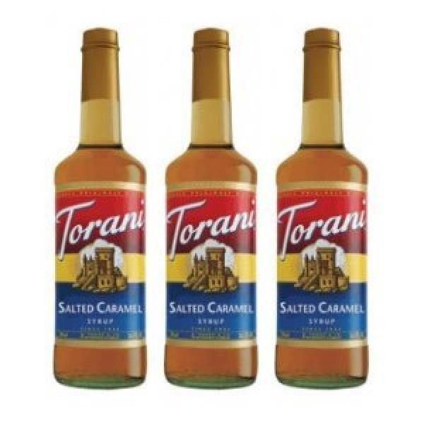 Torani Syrup Salted Caramel 750-ML Pack of 3