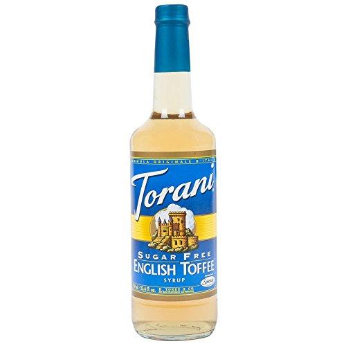 Torani English Toffee Syrup Sugar Free