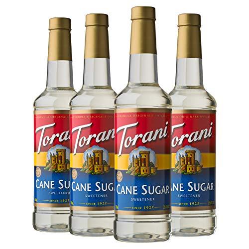 Torani Syrup, Cane Sugar Sweetener, 25.4 Ounces Pack of 4