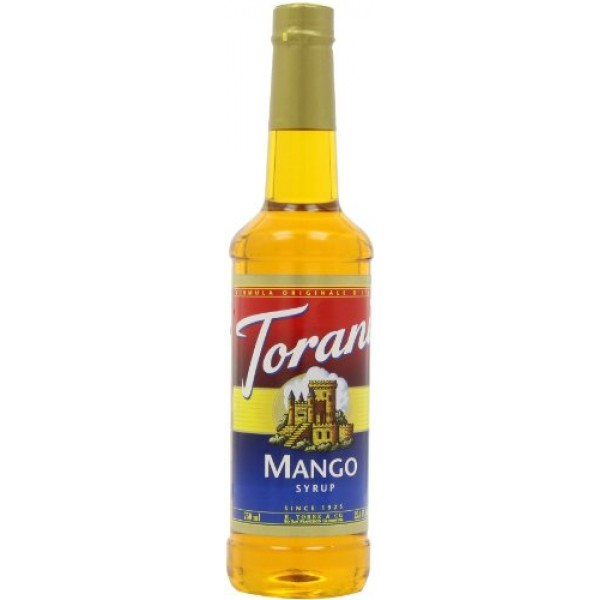 Torani Syrup, Mango, 25.4-Ounce Bottles Pack of 3