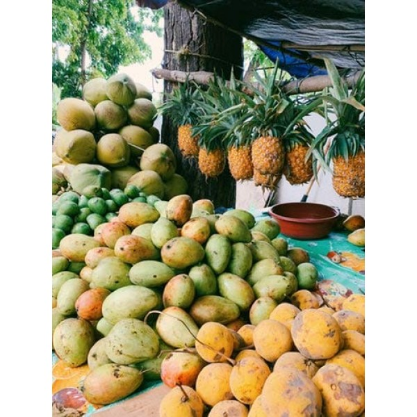 Torchbearer Sauces Pineapple Papaya BBQ, 12 Ounces - All Natural...
