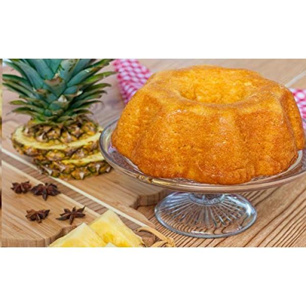 TORTUGA Caribbean Pineapple Rum Cake - 4 oz Rum Cake - The Perfe...