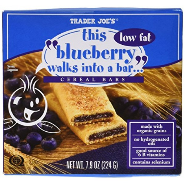 2 Boxes of 6 Trader Joes Blueberry Cereal Bars