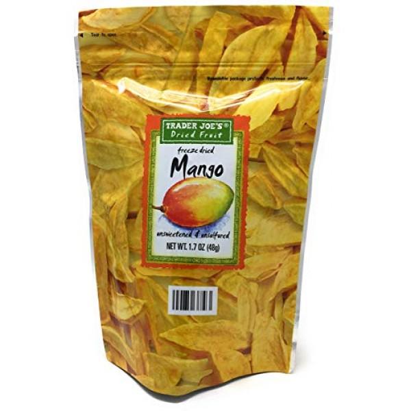 3 Pack Trader Joes Freeze Dried Mango Unsweetened & Unsulfured ...