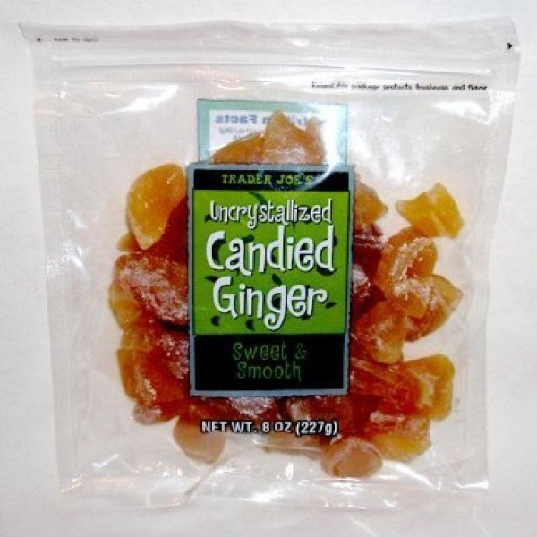5 Pack Trader Joes Uncrystallized Candied Ginger Sweet & Smooth...