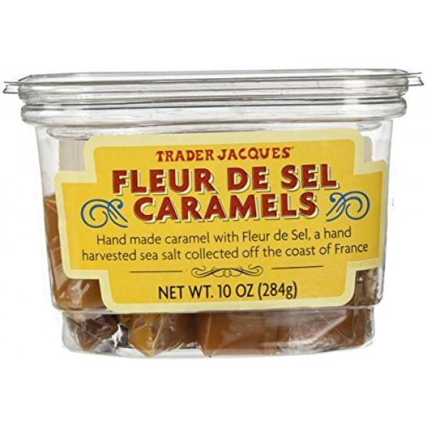 Trader Joes Fleur De Sel Caramels Candy Hand Made Caramel with ...